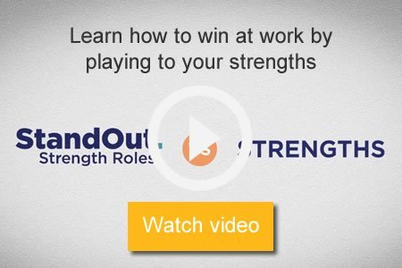 Watch video to learn how to win at work by playing to your strengths